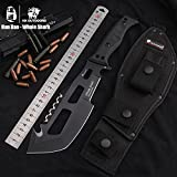 HX OUTDOOR Han Dao - whale shark high hardness tactics, straight knife, wild survival outdoor tools