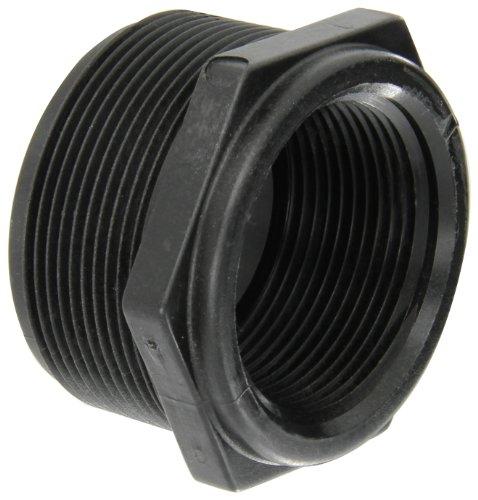 (Banjo RB200-150 Polypropylene Pipe Fitting, Reducing Bushing, Schedule 80, 2 NPT Male x 1-1/2