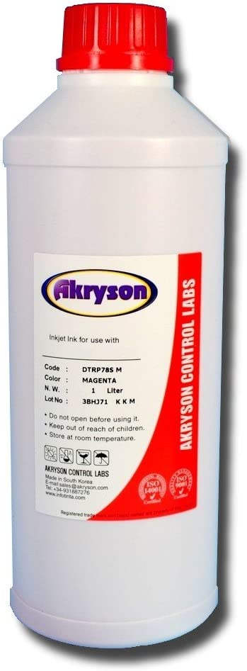 Tinta Base Agua Pigmentada para Recarga para Plotter Mutoh 1 Litro Magenta Claro …: Amazon.es: Electrónica