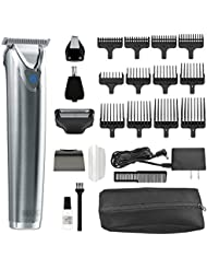 Wahl Clipper Stainless Steel Lithium Ion Plus Beard...