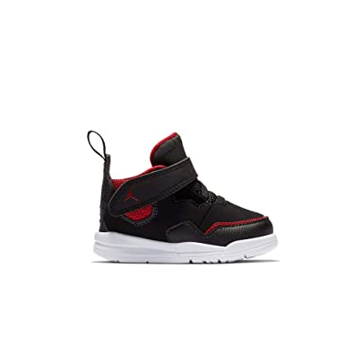 best website 4c8f5 15ee2 Nike Jordan Courtside 23 (TD) Chaussons Mixte bébé, Multicolore Black Gym  Red