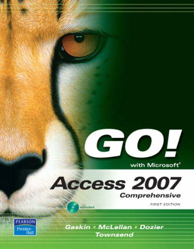 Go! With Access 2007