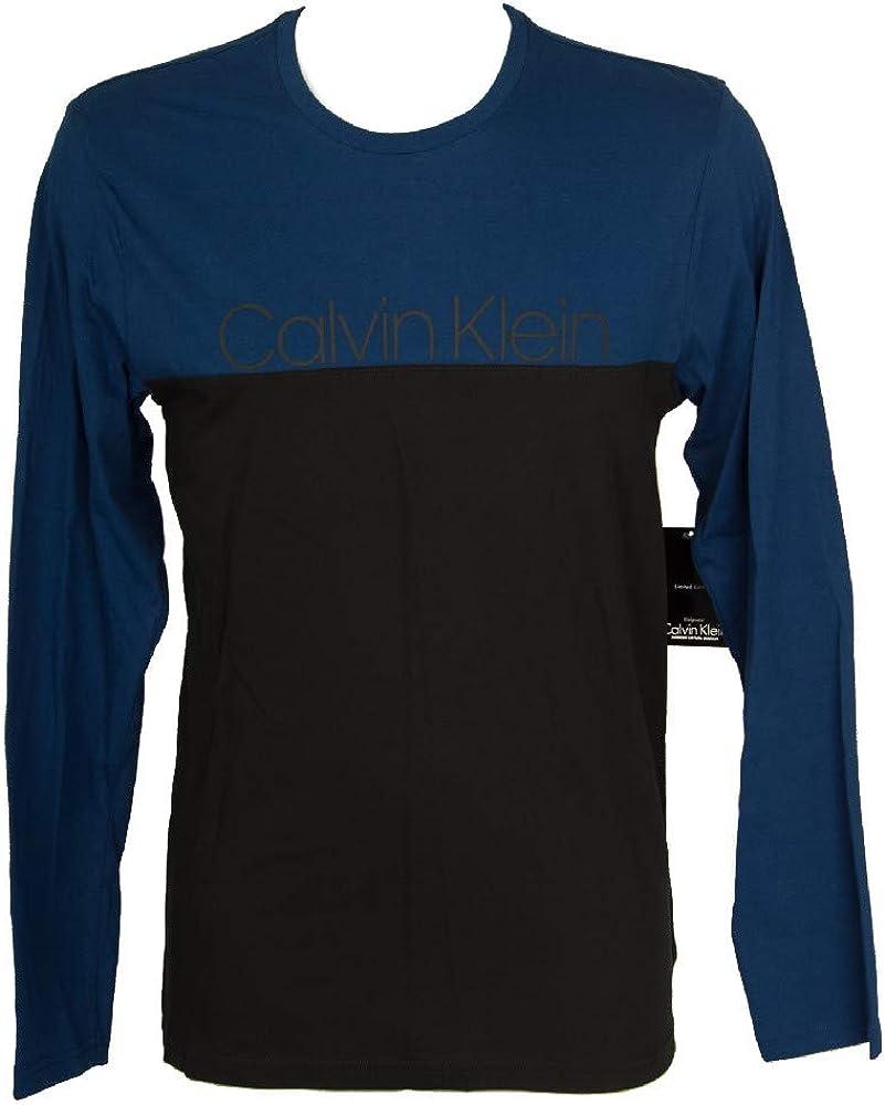 Calvin Klein T-Shirt Camiseta Manga Larga Hombre CK Articulo NM1581E l/s Crew Neck: Amazon.es: Ropa y accesorios