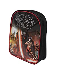 Star Wars Official Childrens/Kids The Force Awakens Rule The Galaxy Backpack (One Size) (Black)