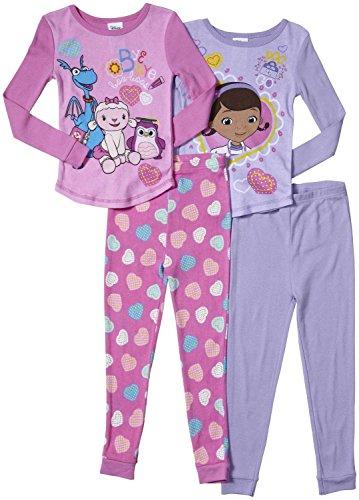 Disney Junior Doc 4 Piece Cotton (Toddler)-Multicolor-2T -