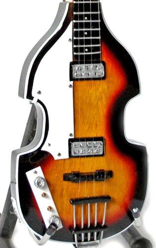 Miniature Guitar Paul McCartney The Beatles Hofner Bass