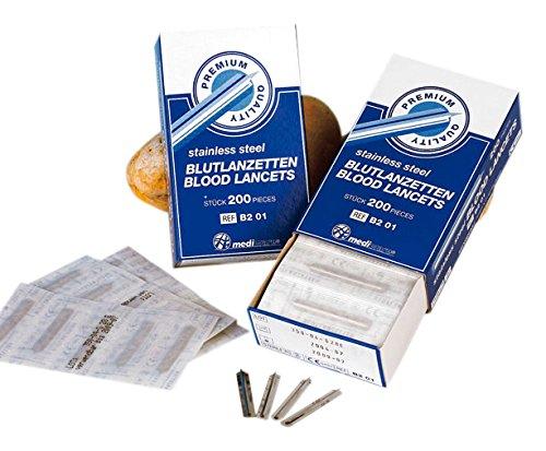 Mediware 10947551 Blutlanzetten Premium (200-er Pack)