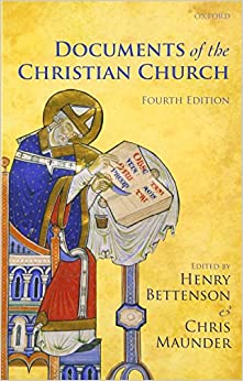 Book Documents of the Christian Church