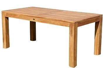 ASS Wuchtiger Teak Bigfoot Gartentisch 180x90 Holztisch Teaktisch Garten Tisch  Holz JAV BIGFOOT180 Von
