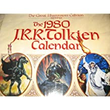 1980 J.R.R. Tolkien Lord of the Rings Calendar -Great Illustrators Edition w/ Mailer Box