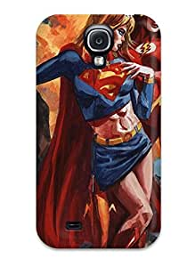 Hot 3841848K11785805 New Diy Design Justice League For Galaxy S4 Cases Comfortable For Lovers And Friends For Christmas Gifts