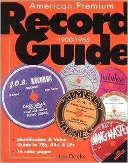 AMERICAN PREMIUM RECORD GUIDE EPUB