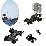 Kitesurfing Kite Line Mount, Oumers Kiteboarding Line Holder Adapter Adaptive For GoPro Hero5 Black GoPro Hero HD, Hero 4, Hero 3+, For GoPro Camera Accessories
