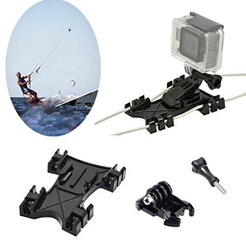 Kitesurfing Kite Line Mount, Oumers Kiteboarding Line Holder Adapter Adaptive For GoPro Hero5 Black GoPro Hero HD, Hero 4, Hero 3+, For GoPro Camera Accessories