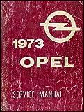 1973 Opel GT & 1900 Repair Shop Manual Original