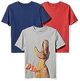 #9: Spotted Zebra Boys' 3-Pack Short Sleeve T-Shirt