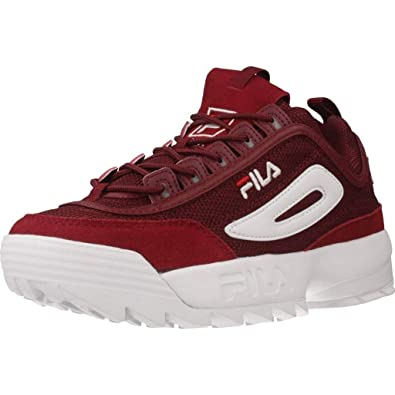 chaussure fila rouge
