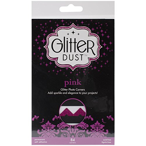 Therm O Web Glitter Dust Photo Corners ()