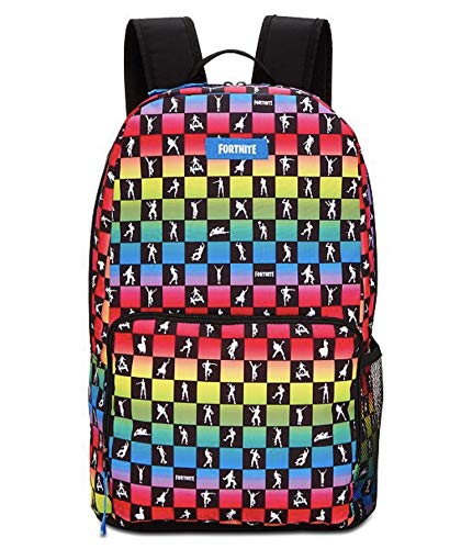 Kids' Fortnite Amplify Print School Backpack 18 Inch by Backpack Variety