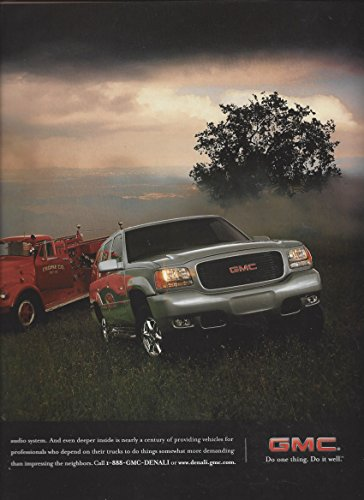 Magazine Ad For 1998 Gmc Yukon Denali Truck  Knight In Shining Steel