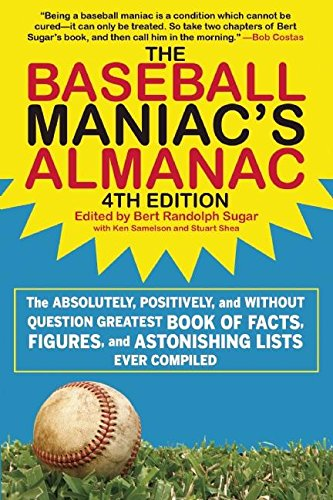 Baseball Maniac Almanac Absolutely Astonishing product image