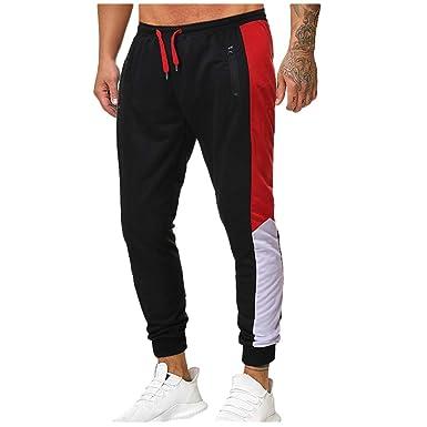 ROUNYY - Pantalones de chándal para Hombre para otoño e Invierno ...
