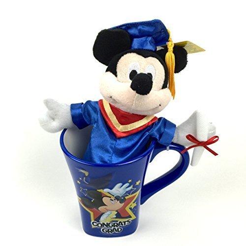 Graduation Plush With Mug (Mickey Mouse Graduate)