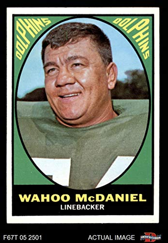 1967 Topps # 82 Wahoo McDaniel Miami Dolphins (Football for sale  Delivered anywhere in USA