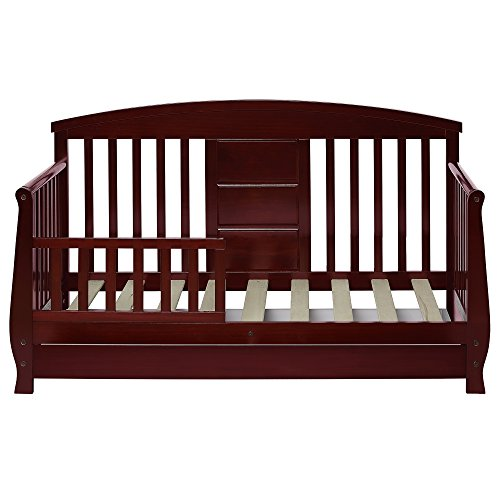 Cherry Bed Natural (Dream On Me Deluxe Toddler day Bed, Cherry)