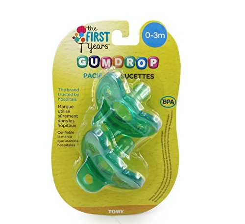The First Years GumDrop Newborn Pacifier by The First Years (Image #2)