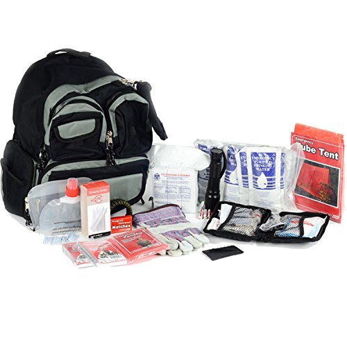 Basic 2 Person Bug Out Bag - Emergency Supplies Kit - Food, Shelter, Survival Tools & Gear Pack by Legacy Premium Food Storage (Image #4)