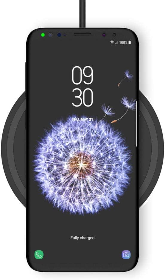Belkin Boost Up Base de carga inalámbrica de 10 W (cargador para iPhone 11, 11 Pro/Pro Max, XS, XS Max, XR, SE, Samsung Galaxy S20, S20+, S20 Ultra, S10, S10+ y S10e, con enchufe británico, negro)