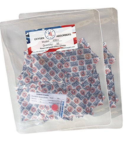FreshUs Oxygen Absorber Packets - 100 x 300cc