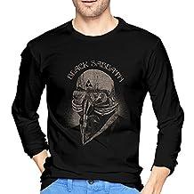 O-Neck T-shirts Black Sabbath Iron Man