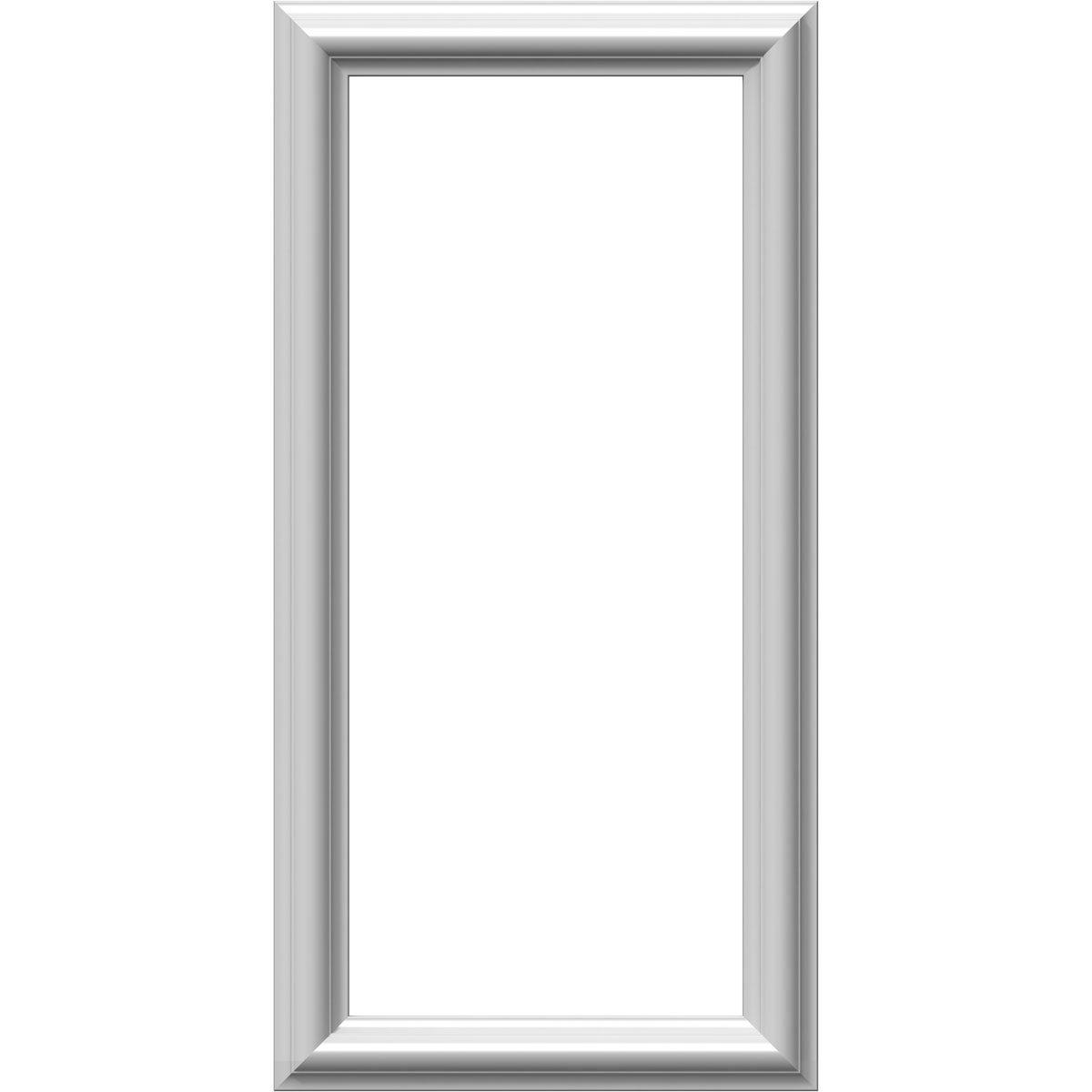 Ekena Millwork PNL24X28AS-01-CASE-4 24 inch W x 28 inch H x 1/2 inch P Ashford Molded Classic Wainscot Wall Panel (4-Pack),
