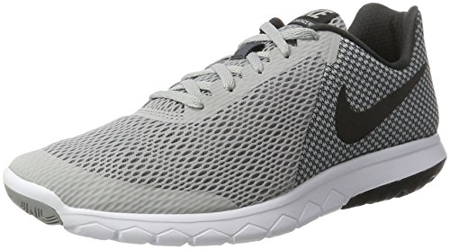 NIKE Mens Flex Experience RN 6 Grey Black Anthracite White Size 8.5
