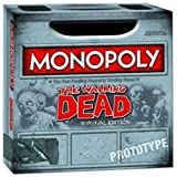 New Monopoly The Walking Dead Survival Edition, New