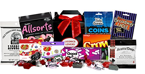 Licorice Lovers Candy Gift Box Crows Licorice