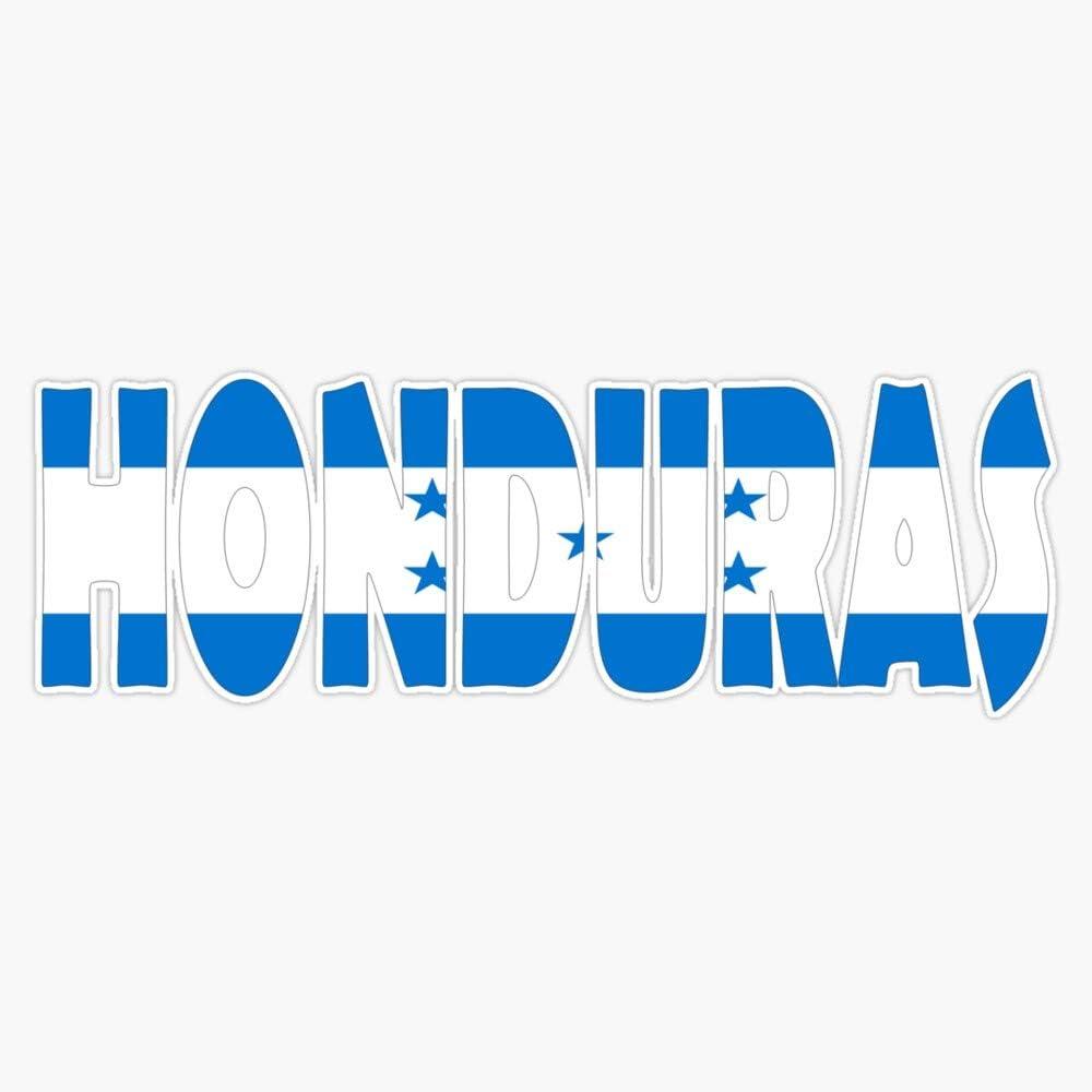 Honduras Decal Vinyl Bumper Sticker 5