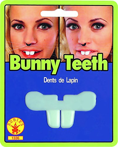 Morris Costumes Bunny Teeth Blister Card]()