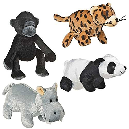 Mary Meyer Knucklehead Finger Puppets, Jungle Friends Jungle Finger Puppets