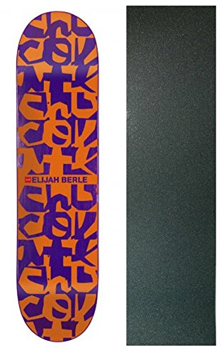 CHOCOLATE Skateboard Deck POP SECRET FIBER Berle Deconstruct 8.5 with GRIPTAPE