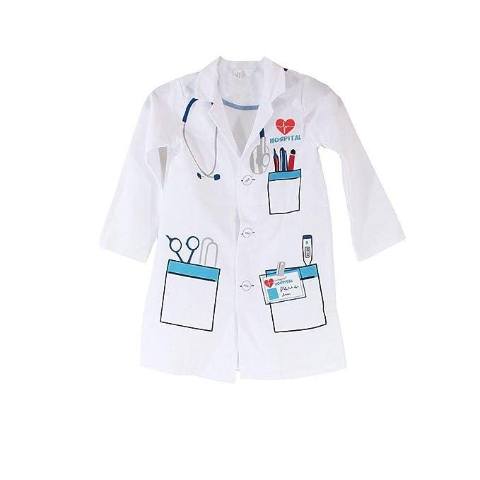 Amazon.com: Jason Party - Abrigo médico para niños, color ...