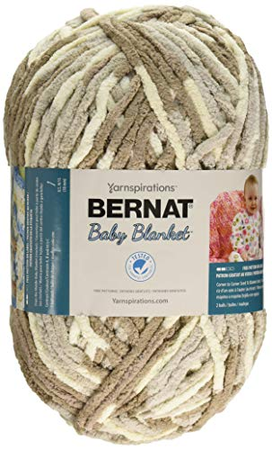 - Bernat Baby Blanket Big Ball Yarn (04011), Little Sandcastle