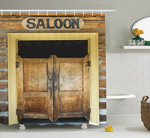 Ambesonne Sc 11923 Saloon Ambesonne Saloon Decor Collection Authentic Saloon Doors Of Old