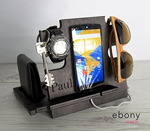How to buy the best wood docking station for men personalized?