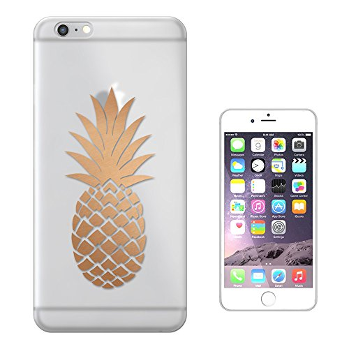 "C0729 - Large Tropical Pineapple Fruit Trend Design iphone 7 (4.7"") Fashion Trend Silikon Hülle Schutzhülle Schutzcase Gel Rubber Silicone Hülle"