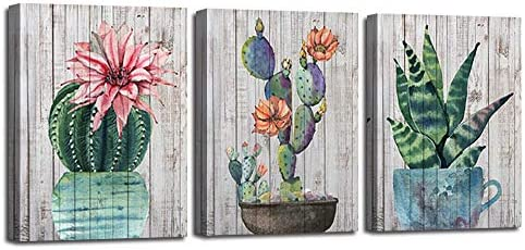 Watercolor Painting Pictures Succulent Bathroom product image