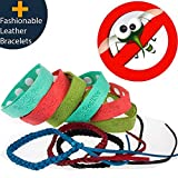 Mosquito Repellent Bracelet 9pcs 100% All Natural Plant-Based Oil Non-Toxic Travel Insect Repellent