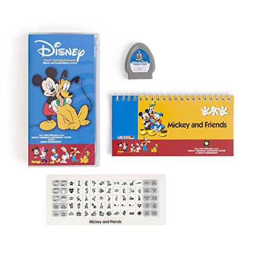 Cricut 29-0382 Shape Mickey and Friends Cartridge Cutting Machines